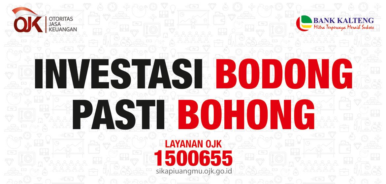 Investasi Bodong by OJK